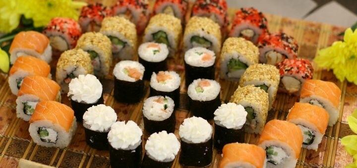 Скидка 57% на сет «На двоих» от магазина-ресторана японской кухни «Суши WOK»