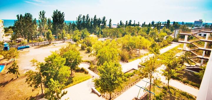 От 3 дней отдыха в сентябре на базе отдыха «Энергостроитель» в Коблево на Черном море