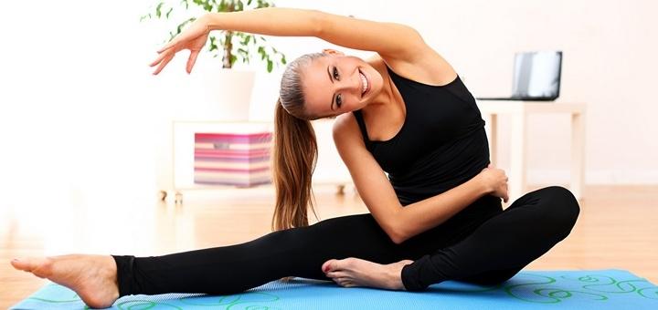 8 онлайн-тренировок по пилатесу и интенсиву от тренера Юлии Чорной