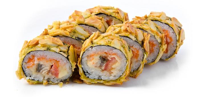 Скидка 51% на суши-сет «Горячий Хит» с доставкой или самовывозом от «Гурман»