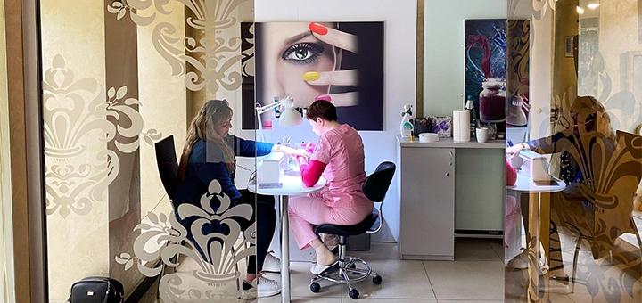 До 3 сеансов маникюра с покрытием гель-лаком в салоне красоты «Beauty bar Anio»