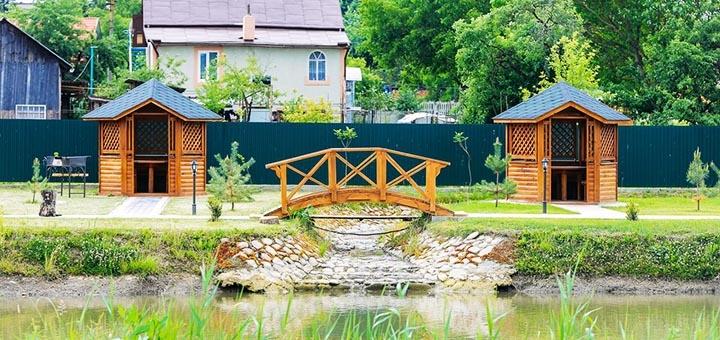 От 3 дней в июне с бассейном и рыбалкой в загородном комплексе у озера «Zarichna» в Дрогобыче