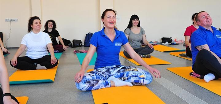 До 12 занятий йогой в школе йоги «Yoga Alliance»