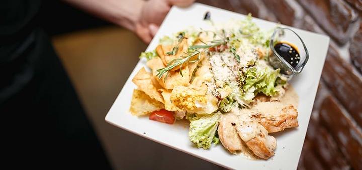 Скидка 50% на меню кухни и кальяны и 10% скидки на бар в пабе «B&M chill and grill bar»
