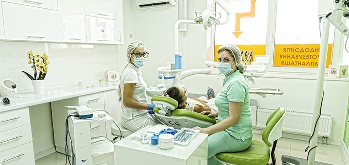 Профессиональная чистка зубов в стоматологической клинике «Колибридент»