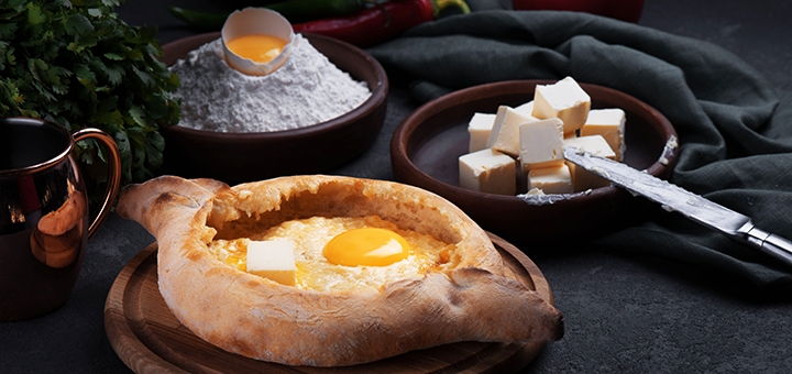 Скидка 50% на меню кухни с самовывозом от ресторана грузинской кухни «Georgia» на Крещатике