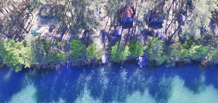 От 2 дней летнего отдыха в эко-комплексе «Голубые озера» в Черниговской области