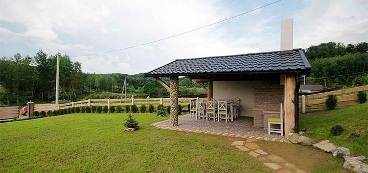 От 3 дней отдыха летом для компании с сауной в коттедже «Spa House» в Карпатах