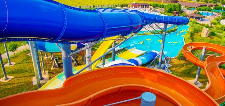 Скидка 50% на целый день развлечений в аквапарке «Одесса» по 25.07 включительно