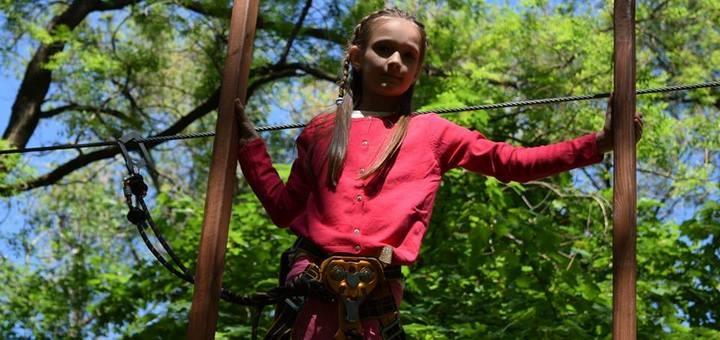 Скидка 50% на прохождение трасс в веревочных парках «Terra Nova»
