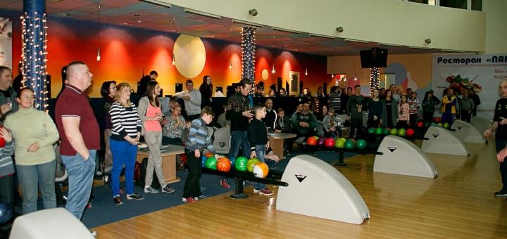 Скидка 50% на игру в боулинг в любой день в боулинг-клубе «Панорама»