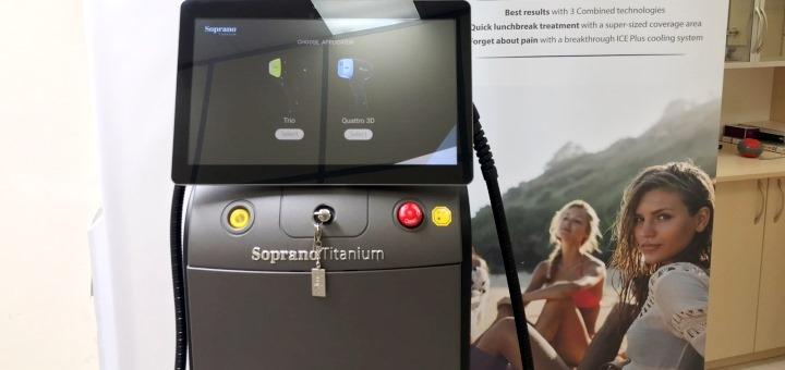 Скидка до 60% на лазерную эпиляцию в сети «Soprano Laser»
