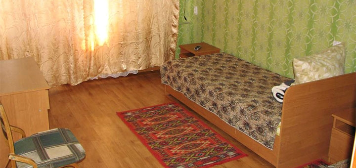 От 6 дней отдыха с питанием и лечением в санатории «Оризонт» в Сергеевке