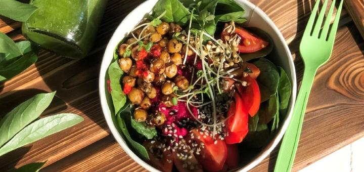 Скидка 50% на меню кухни в веганском ресторане «Vegan Cafe»