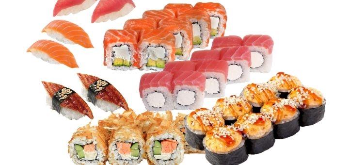 Скидка до 60% на суши, роллы и сеты с доставкой или самовывозом от компании «Eco Sushi»