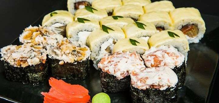 Суши-бар Фудзимама / Скидка 50% на всю японскую кухню  от «Фудзимама»