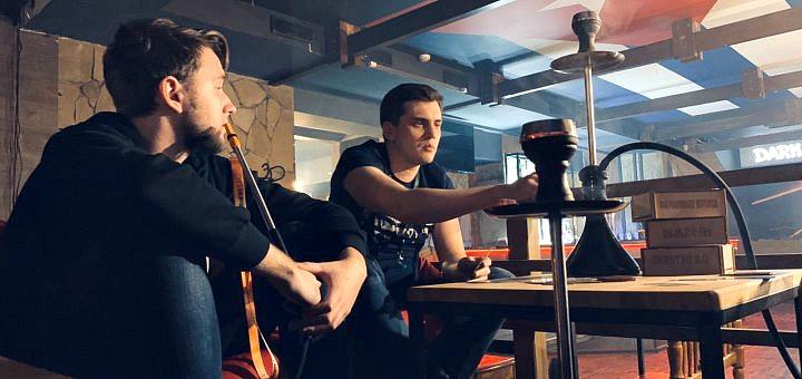 Кальян «Premium» с коктейлем, пивом или чаем в кальянной «Dark Side»
