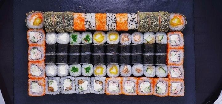 Скидка 50% на суши-сеты «Ассорти», «Ямагата», «Император» или WOK от «Рыбарис»