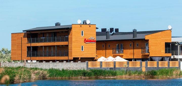 От 3 дней отдыха в июле с завтраками в отеле «Villa Solomare» в Каролино-Бугазе