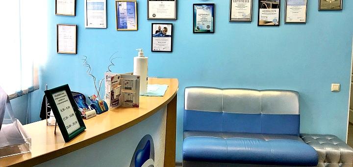 Скидка 54% на установку циркониевых коронок в стоматологии «Градия»