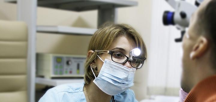 Консультация у отоларинголога в клинике «Амрита»