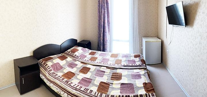 От 4 дней отдыха в июле в кирпичном корпусе отеля «Иверия» в Затоке на второй линии от моря