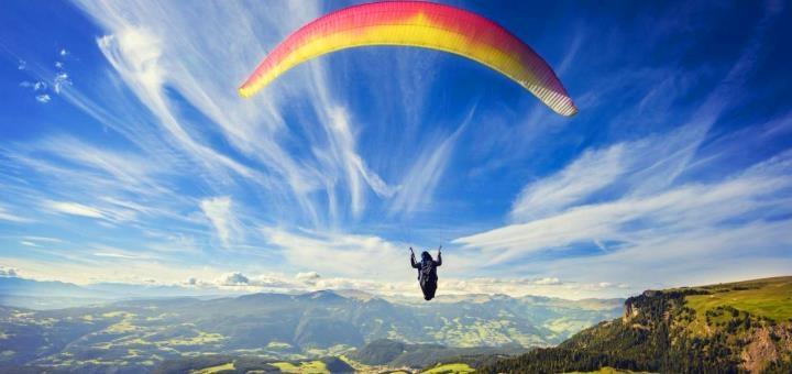 Скидка до 30% на полет на параплане с инструктором от «Touch the Sky»