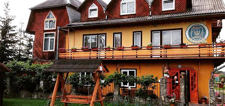 От 3 дней летнего отдыха для компании в отеле «Писанка» в Карпатах