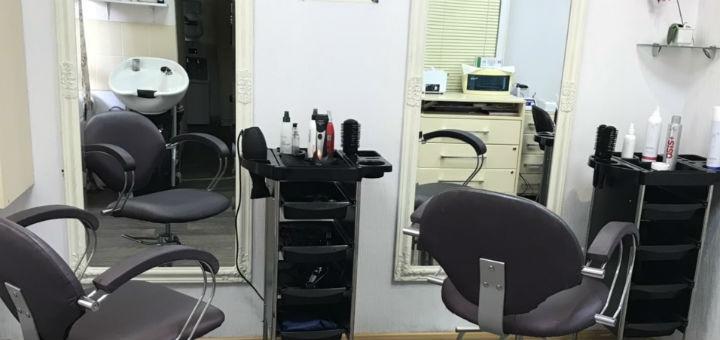 Биозавивка или химическая завивка с укладкой волос в салоне красоты «Ваниль»