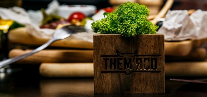 Знижка 40% на меню кухні у ресторані «TheМ'ясо»