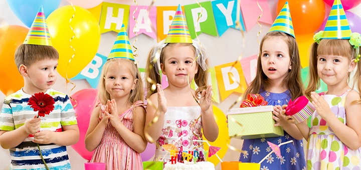 Празднование дня рождения ребенка в центре развития и отдыха семьи «Ангелок»