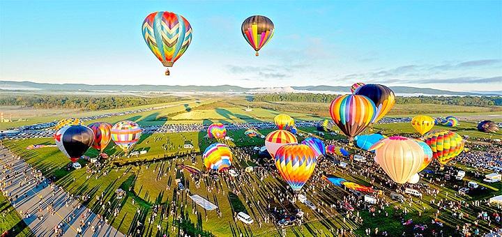 Скидка до 40% на полет на воздушном шаре на фестивале шаров 2020 от компании «Polyot»