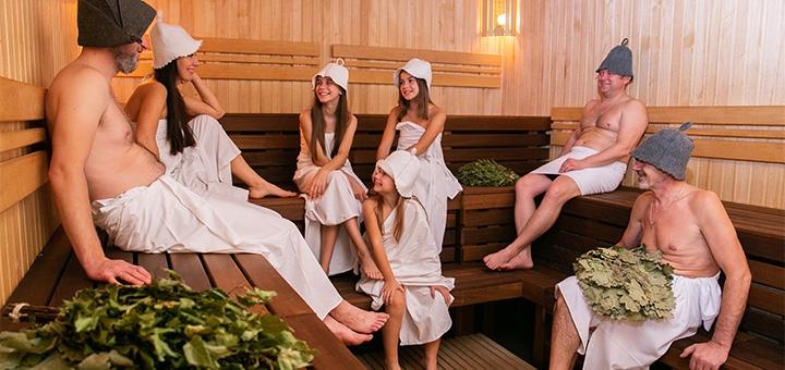 Один день безлимитного посещения SPA-комплекса «Бориспольские Бани №1»