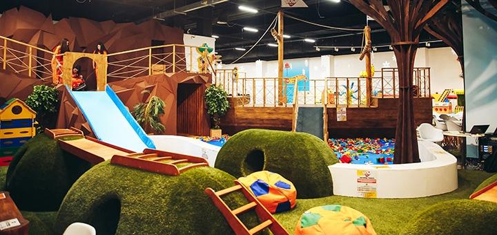 Посещение детского парка «WOW park» в ТРЦ «ArtMall»