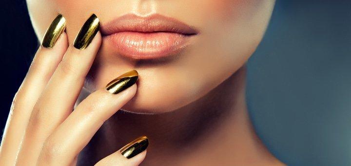 """Безупречные ногтики! 1 или 3 сеанса маникюра с покрытием гель-лаком в Эко Бьюти Хабе """"Ботаника""""!"""