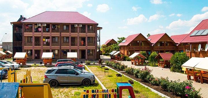 От 3 дней отдыха в июле в кемпинге «Хуторок» в Коблево