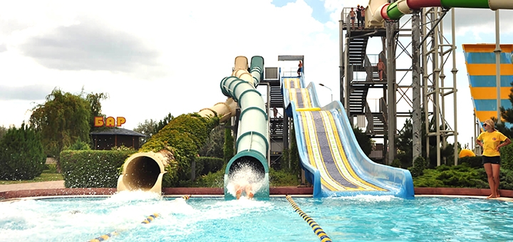 От 4 дней отдыха в июле с посещением аквапарка в отеле «Отель Аквапарк Коблево»
