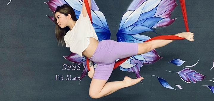 До 8 занятий Aerostretching, Barre-fitness или Mamy&baby в фитнес-студии Юлии Сербиной
