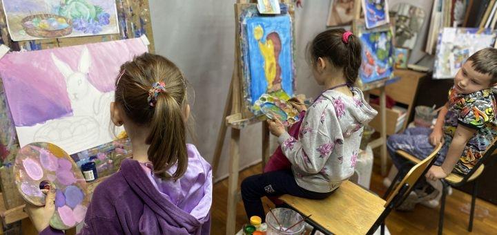 До 16 занятий по курсу «Рисунок и Живопись» от школы живописи «Каравелла»