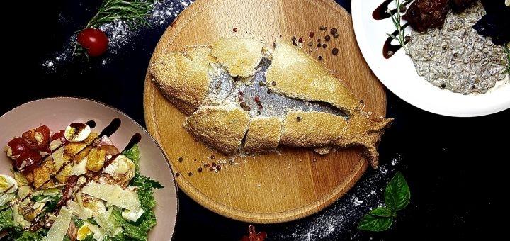 Знижка 50% на всі піци та 40% знижки на все меню кухні з доставкою або у ресторані «Сімоне»