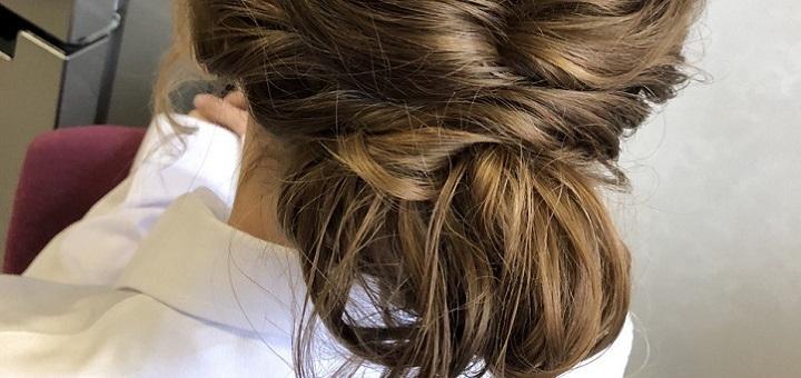 Укладка, накрутка, плетение волос или прическа от стилиста-визажиста Ирины Лозинской