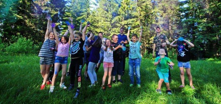 12 дней отдыха летом в детском лагере «Хогвартс» от сети лагерей «SuperCamp» в Карпатах