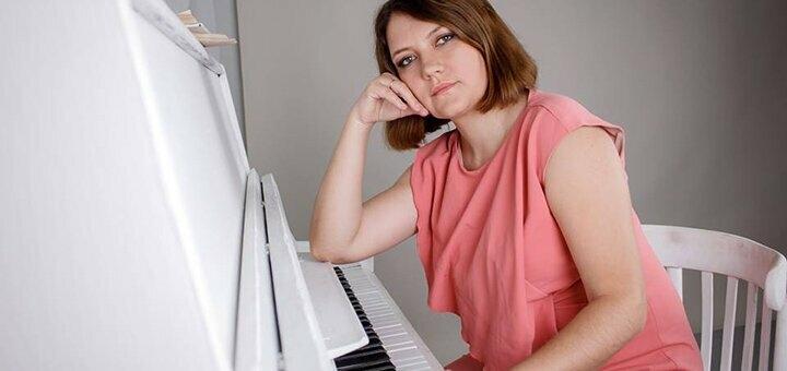 До 4 индивидуальных уроков игры на фортепиано в профессиональной музыкальной академии «Art Mus»
