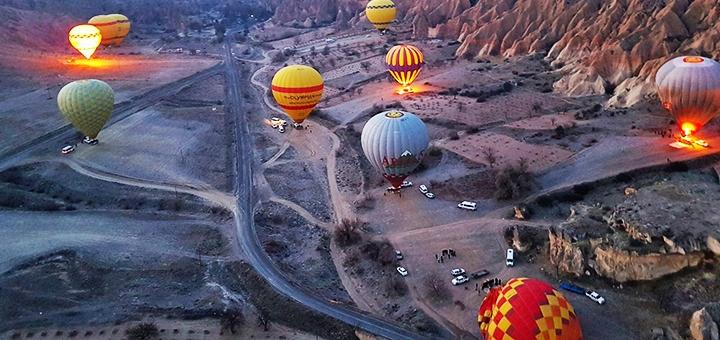 Скидка до 40% на полет на воздушном шаре от компании «Polyot»