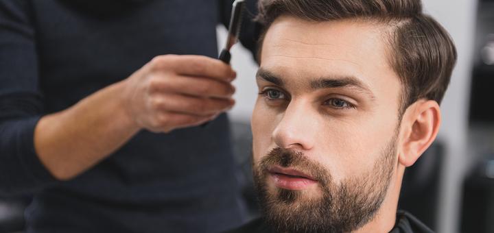 Мужская стрижка, укладка и коррекция бороды в салоне красоты «Master beauty HUB»