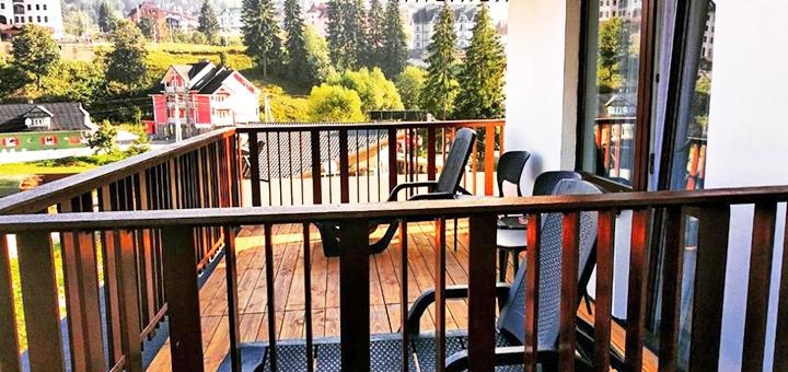 От 3 дней осеннего отдыха с питанием в отеле «Bukville» в Буковеле