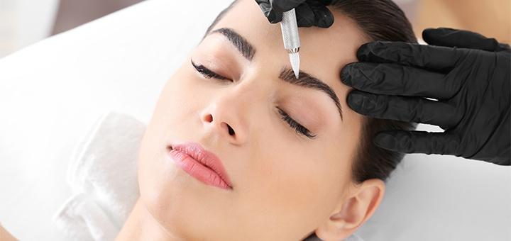 Татуаж век, бровей или губ в салоне перманентного макияжа «Rosie Permanent MakeUp»