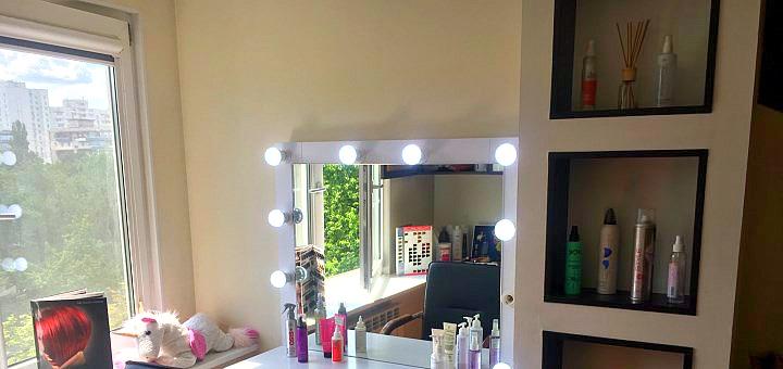 Кератиновое восстановление волос с контурной стрижкой от «Marme Room»