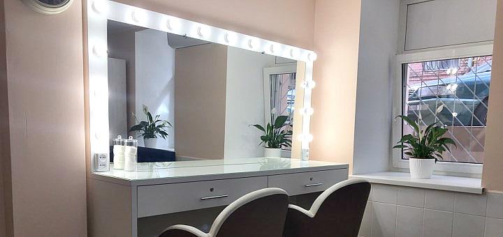 Женская стрижка любой длины c восстановлением и укладкой в салоне красоты «Golden Moon Salon»