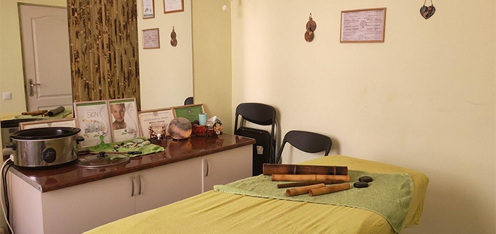 До 5 сеансов лимфодренажно-моделирующего массажа лица и шейно-воротниковой зоны в студии «Гера»
